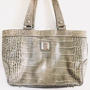 Dooney & Bourke | Crocodile Print Leather Purse