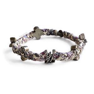 Louis Vuitton Woven Fleur Leop Bracelet