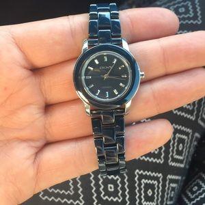 DKNY navy blue watch!