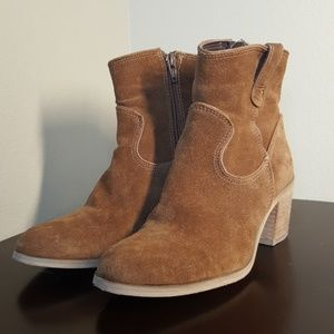 Steve Madden Doverr Leather Booties