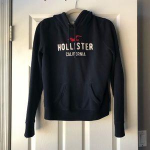 Hollister blue hoodie