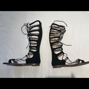 NWT Chinese laundry lace up gladiator sandals