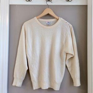 S Talbots Cashmere Sweater