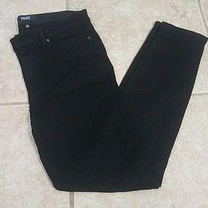 Paige hoxton ultra skinny black jeans size 30