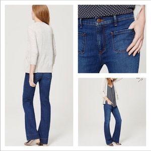LOFT wide leg trouser jeans 💕