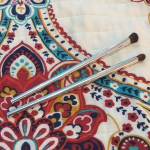 Clinique eye shadow and contour brushes