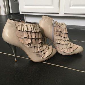 BCBG Maxazria Grey booties Size 7.5
