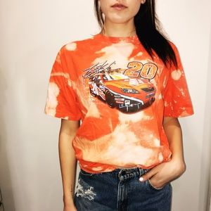 Vintage Acid washed Tony Stewart Tee