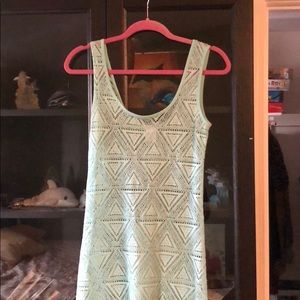 Mint green Bathing suit cover dress size medium