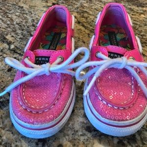 Sperry Biscayne Toddler Top-Sider size 10