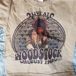Other - Kids Unisex Jimi Hendrix Woodstock Tee XS