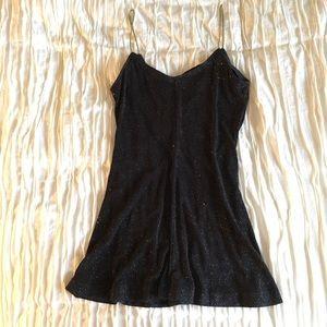 Glitter slip dress