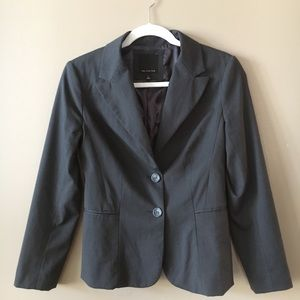 The Limited dark gray/charcoal blazer size 2