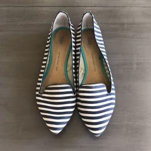 GAP Striped Ballet Flats