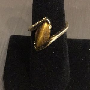 Jewelry - Ladies Tiger Eye Ring Size 7