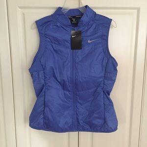 Nike mock-neck running vest