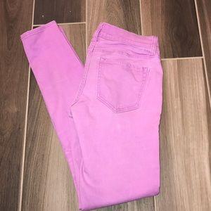 Old Navy Rockstar Lavender Skinny Jeans