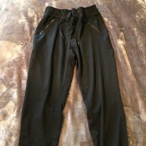 Missimo Drawstring jogger pants zipper pockets