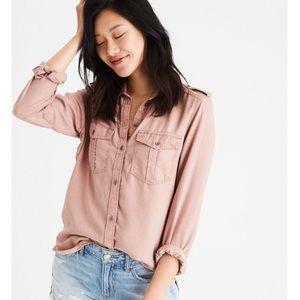 Blush Utility Shirt