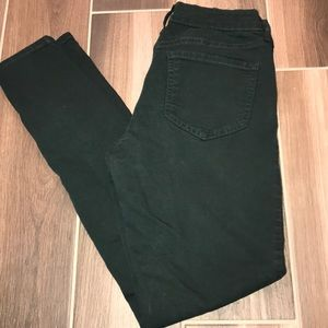 Old Navy Rockstar Green Skinny Jeans- 4