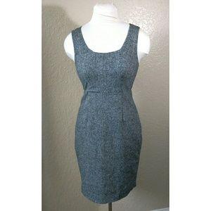 Express gray pencil dress sleeveless