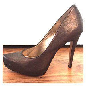 BCBGeneration bronze heels, size 8