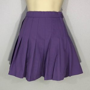 1990s pleated tennis skirt