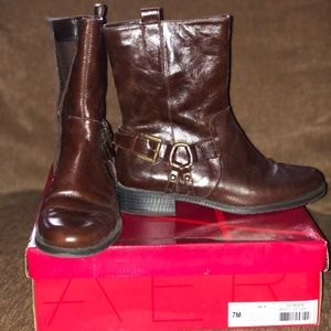 Aerosoles Outrider brown ankle boots