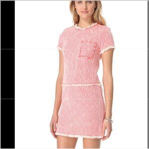 Rebecca Taylor Neon Shift Dress Size 0