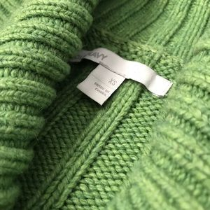Old Navy Green Knit Sweater x-Small