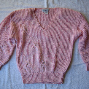 Vintage Nannell Hand Knit Sweater