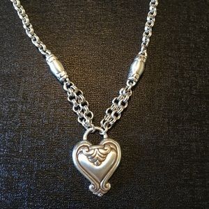 Brighton heart necklace