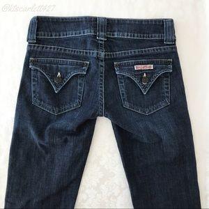 Hudson Signature Bootcut Jeans Dark Wash
