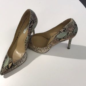 EUC BCBG heels