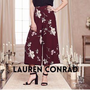 Lauren Conrad off the runway wide leg pants
