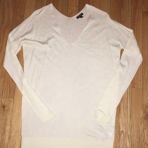 Gorgeous Express cream vneck sweater