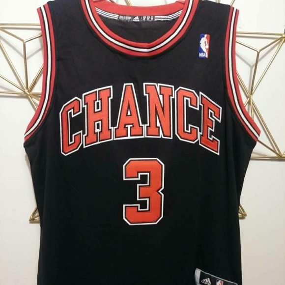 detailed look a481b 208fa Chance The Rapper Chicago Bulls Chi-town #3 Jersey
