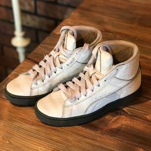 Puma leather high tops