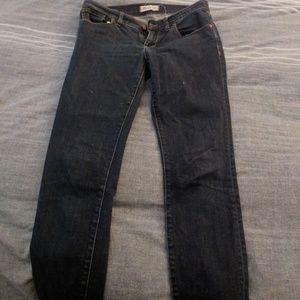 Madewell skinny blue jeans