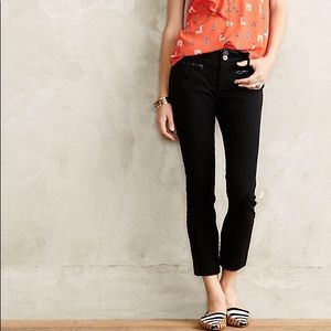 Anthropologie Cartonnier Textured Trousers