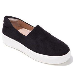 Black Suede Slip On Sneakers Steve Madden
