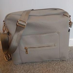 Kiki Lu Diaper Bag in Gray