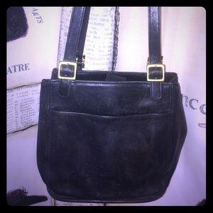 Vintage Coach Soho Leather Bucket Bag-6008