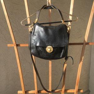 Marc Jacobs Crossbody Black Leather Purse