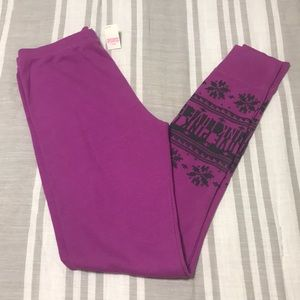 Victoria's Secret PINK Thermal Pajama Pants
