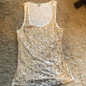 Sparkly holiday tank