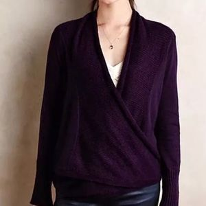 ANTHROPOLOGIE~Angel of the North Lille Cardigan~S