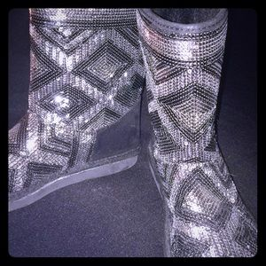 Justice Girls sequins boots