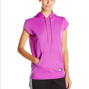 NEW ADIDAS WOMENS PERFORMANCE HOODIE SIZE SMALL