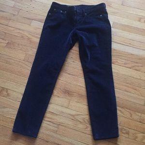 NWT J. Crew velvet pants